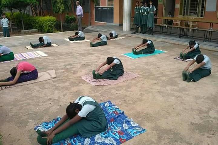 St Marys Vidyaniketan High School-Yoga