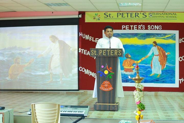 St Peters High School-Speech
