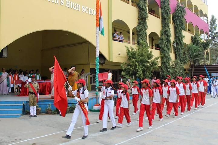 St Martins High School-Republic Day