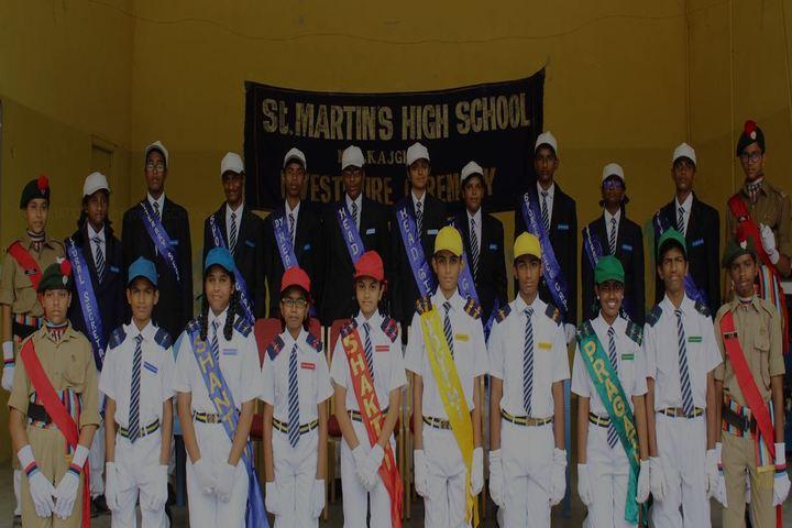 St Martins High School-Investiture Ceremony