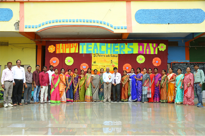 St Peters Edu School-Teachers Day Celebrations