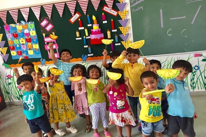 Sunflower Vedic School-Classroom Activity