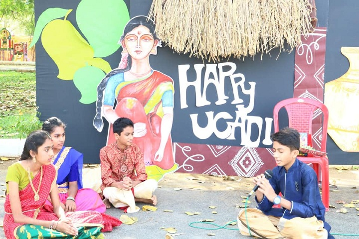Sunflower Vedic School-Ugadi Celebrations
