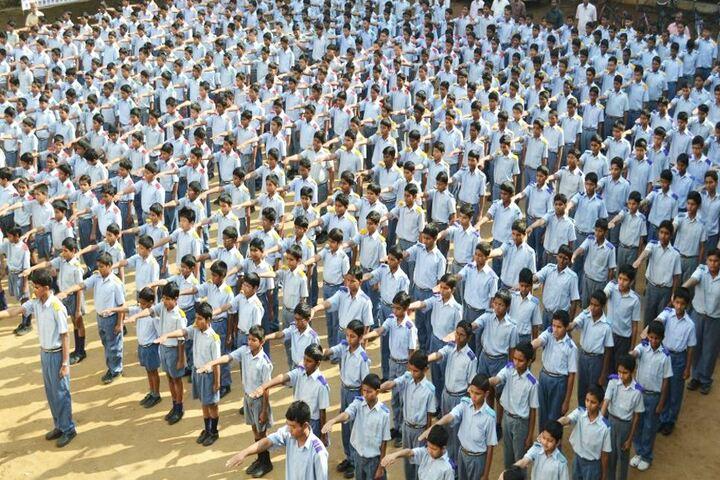 Chigurupati Sri Krishnaveni School-Assembly Ground