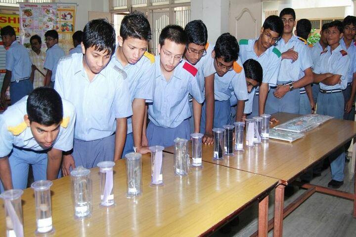 Chigurupati Sri Krishnaveni School-Biological Lab