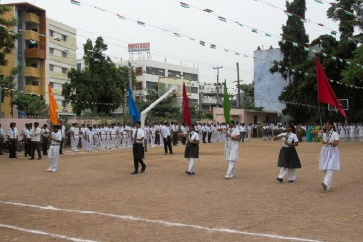 Warangal Public School-March Past