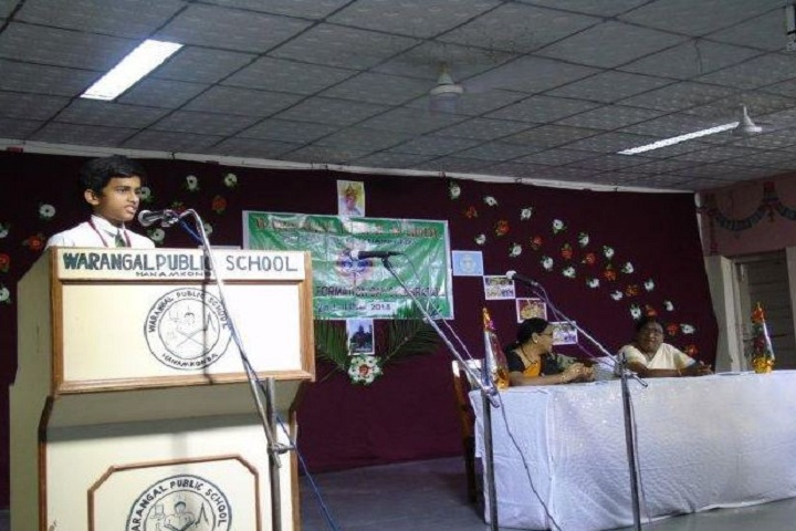 Warangal Public School-Telangana Formation Day