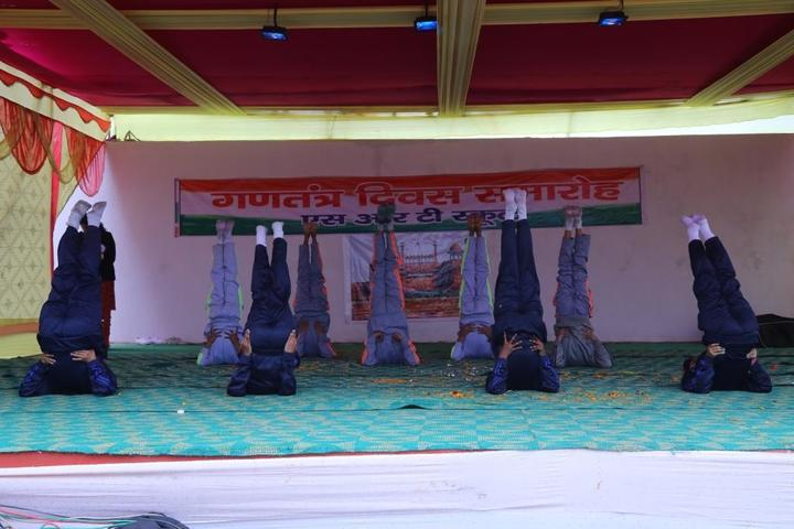 S R T School-Yoga Day