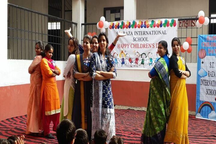S T Raza International School-Childrens Day