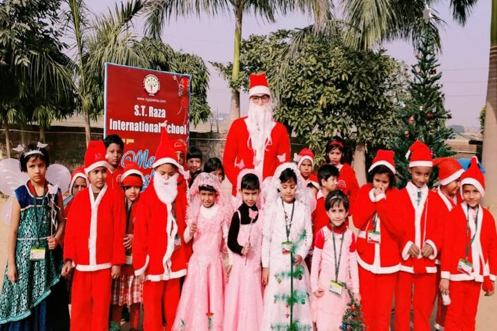 S T Raza International School-Christmas Celebrations