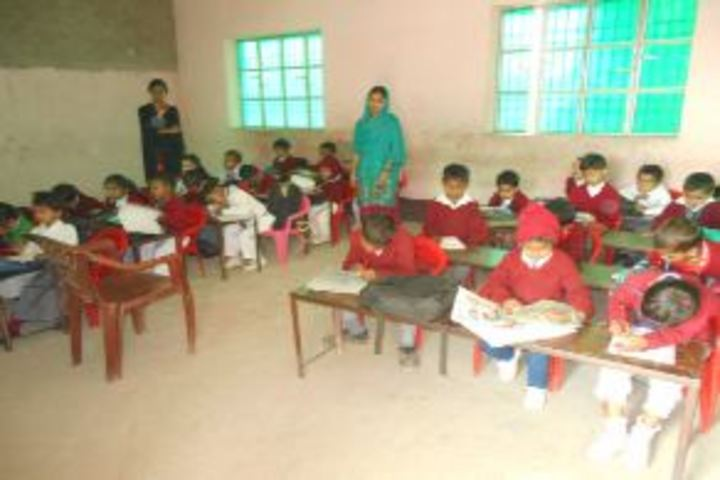 S S International Public School-Class Room