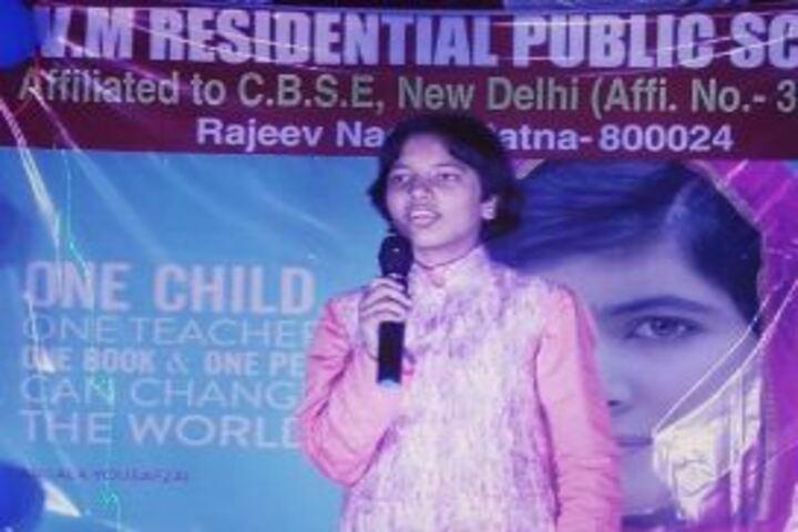S V M Residential Public School-Speech
