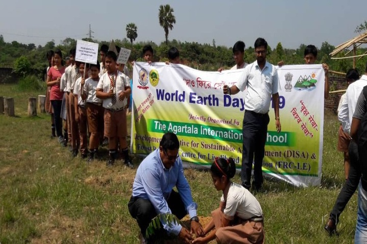 The Agartala International School-Earth Day