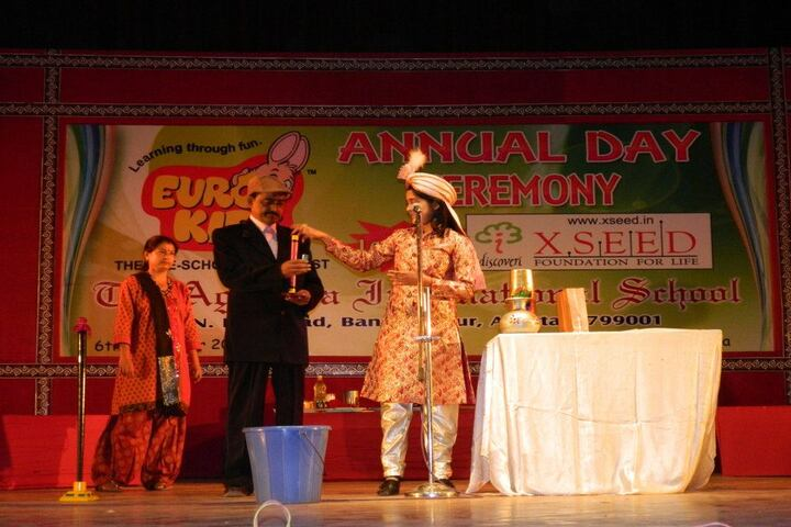 The Agartala International School-Events