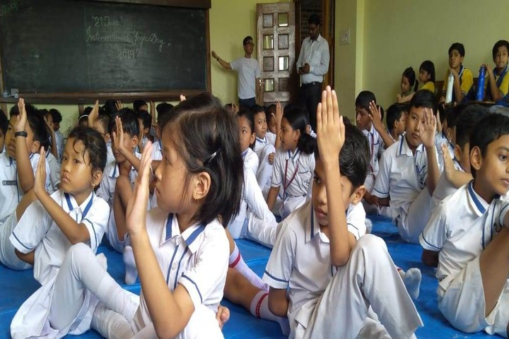 The Agartala International School-Yoga
