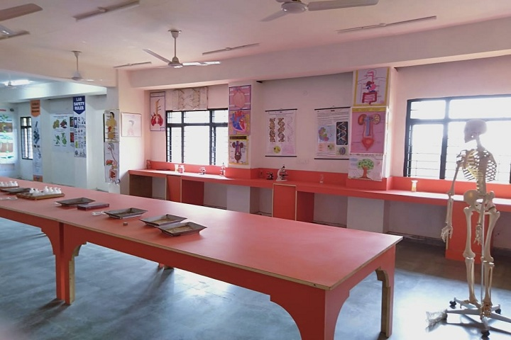 Sanskar Global School-Biology Lab