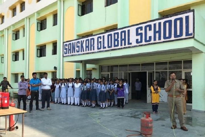 Sanskar Global School-Fire Safty Awareness