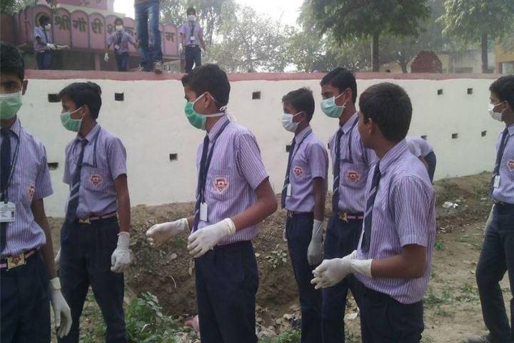 A B S International School-Swach Bharat