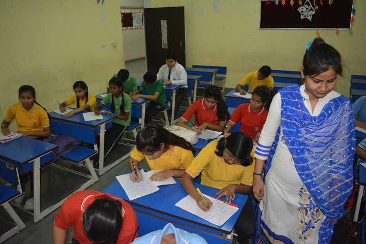 A M World School-Classroom