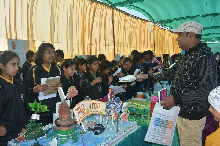 A M World School-Science Exhibition