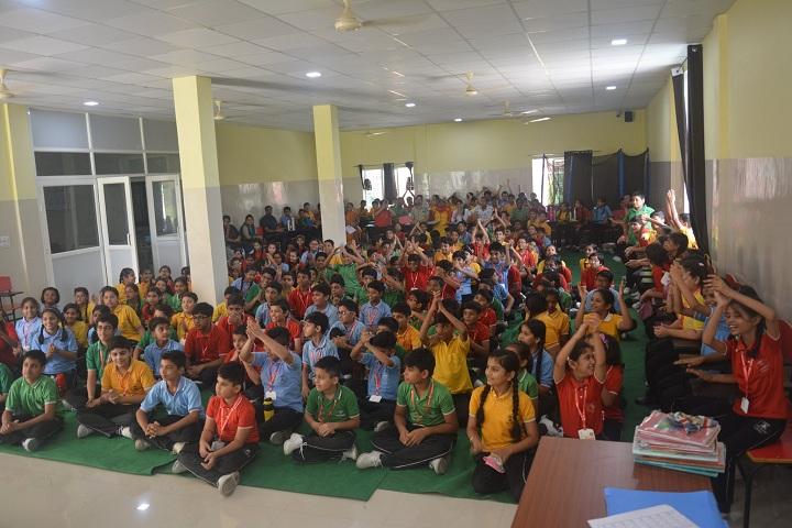A M World School-Students