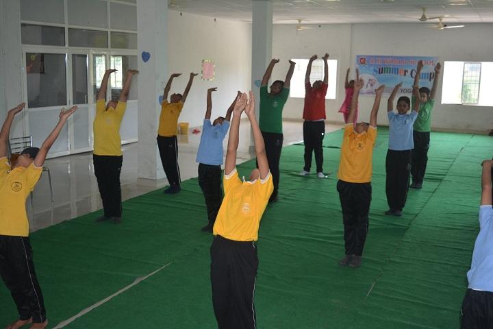 A M World School-Yoga