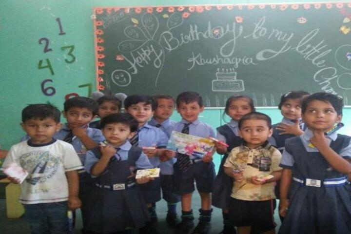 A P Public School-Birthday Celebrations