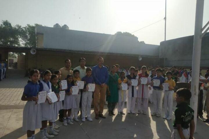A P Public School-Certificate Distribution