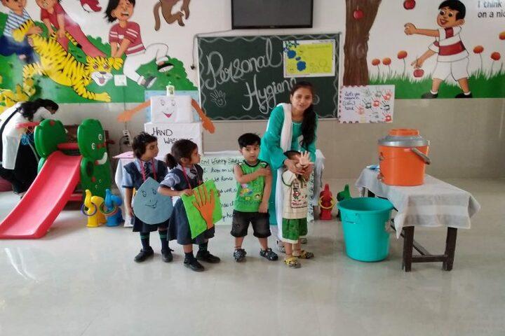 A P Public School-Health and Hygiene
