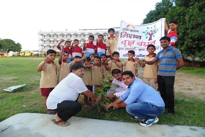S B P Vidya Vihar-Plantation