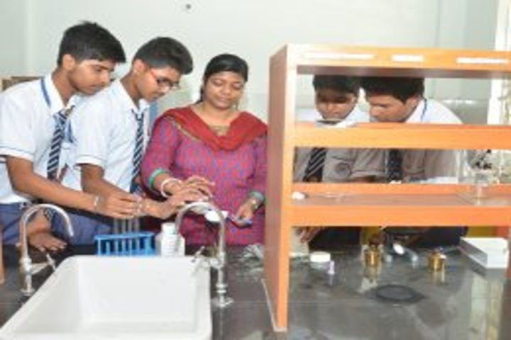 A K Children Academy-Chemistry lab