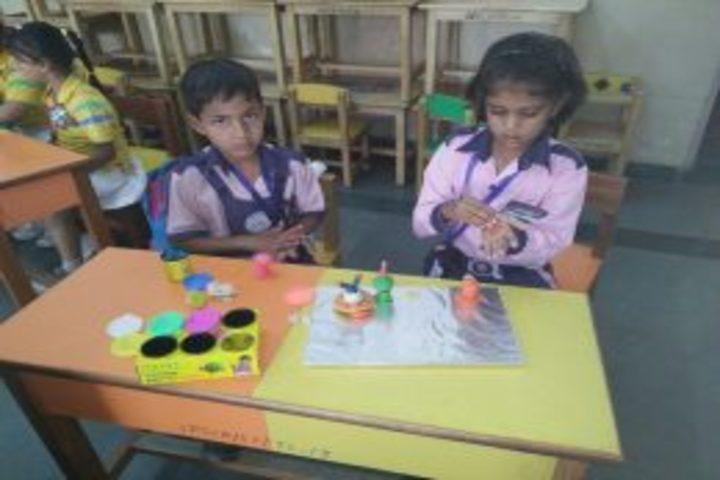 A K Children Academy-Class Art