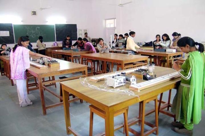 A S M Convent School-Physics lab