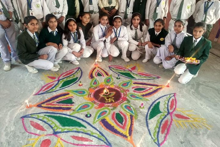 Aarti Memorial Public School-Rangoli