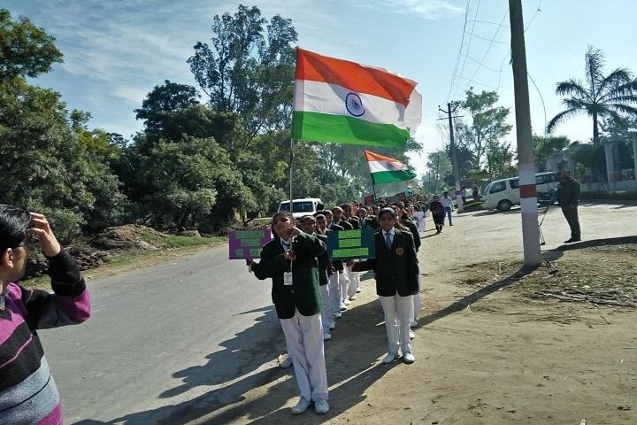 Aarti Memorial Public School-Republic Day