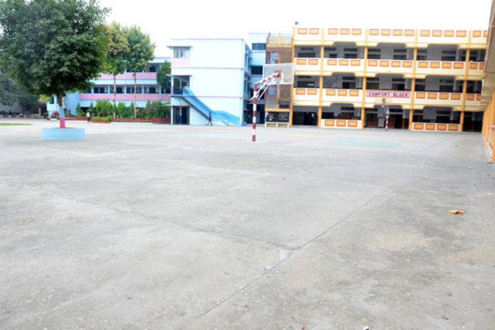 Aatman Public School- Basket Ball Court