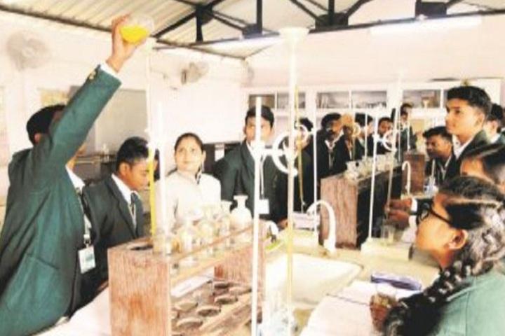 Aatmdeep Vidyalaya- Chemistry Lab