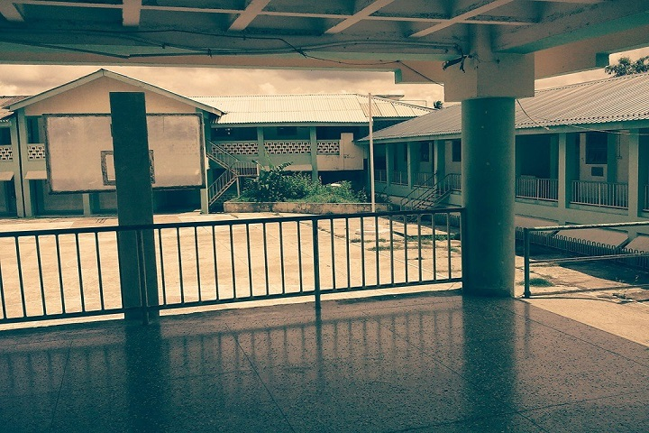 Government Model Senior Secondary School-View of Campus