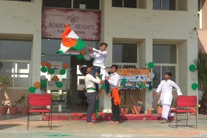 Academic Heights Public School-Independance Day