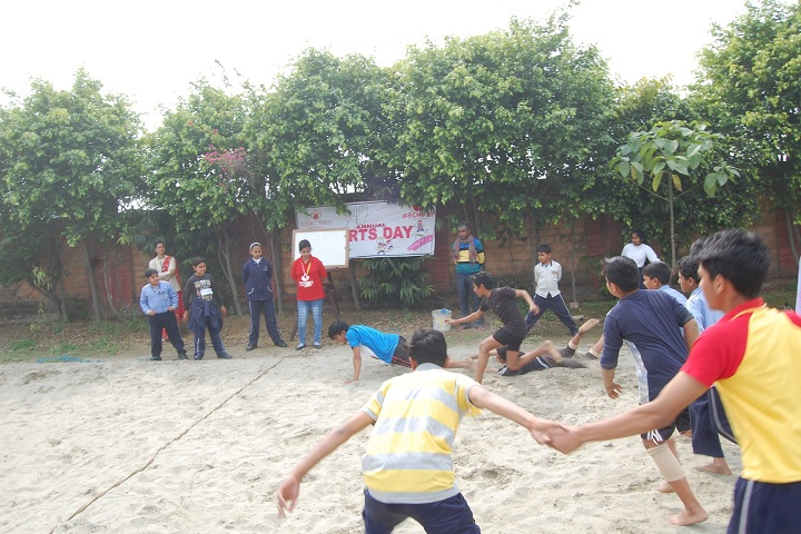 Academic Heights Public School-Kabbadi