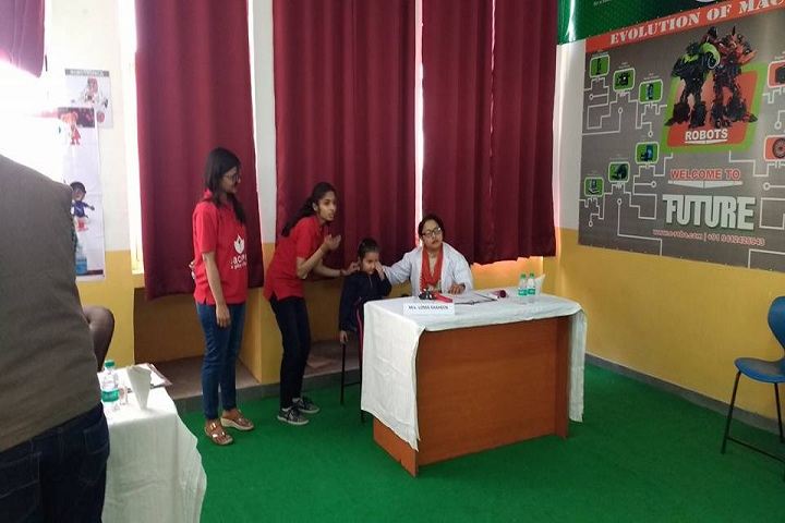 Academic Heights Public School-Medical Checkup