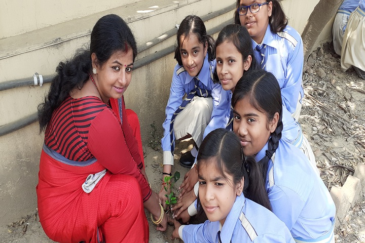 Academic Heights Public School-Tree Plantation