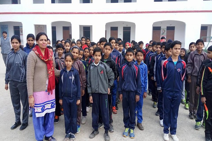 Adarsh Sarovar Public School-Morning Assembly