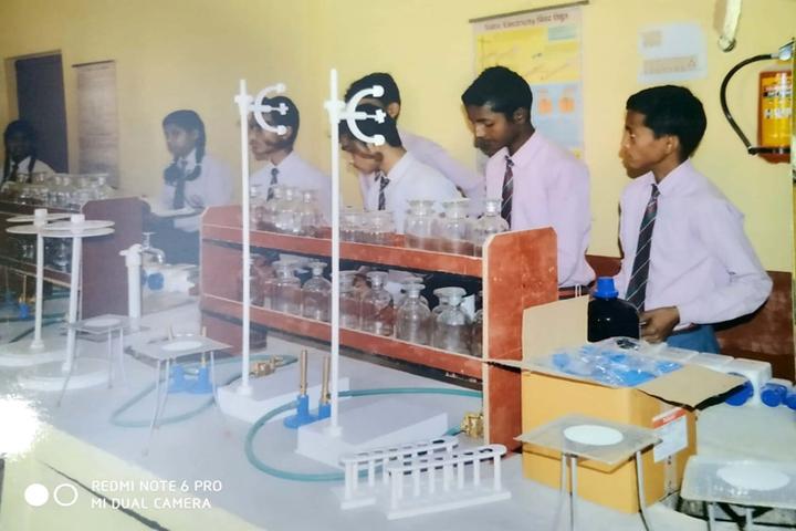 Adarsh Public School-Chemistry Lab