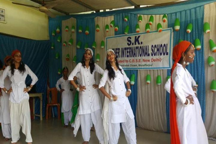 S K Mother International School-Dance