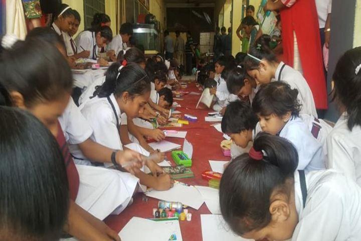 S K Mother International School-Drawing