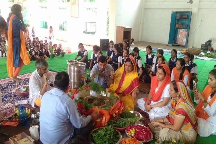 Adarsh Vidya Mandir - Pooja Event