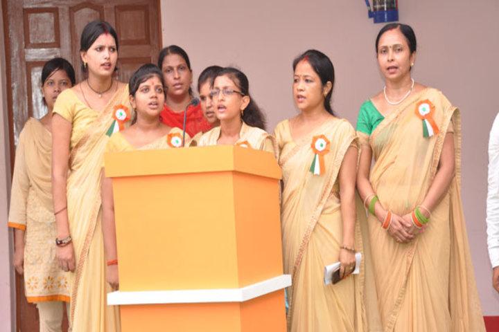 Adi Shakti Ma Pateshwari Public School - Group song