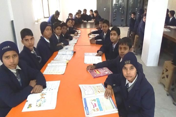 Aditya Public School - Library