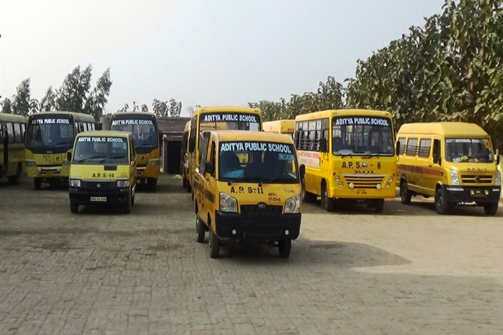 Aditya Public School - Transport Facilties